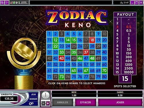Keno big fish casino